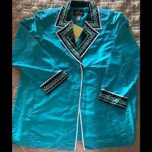 Bob Mackie Wearable Art Jacket